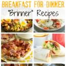 "Over 75 Breakfast for Dinner ""Brinner"" Recipes on Julie's Eats and Treats!"