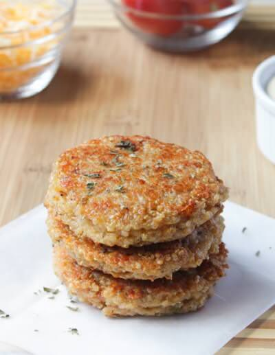Quinoa-Feta Burgers Recipes — Dishmaps