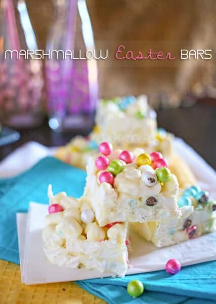 Marshmallow Easter Bars from kleinworthco.com