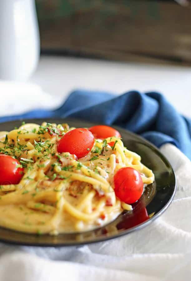 Pasta Carbonara from kleinworthco.com
