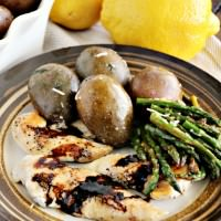Balsamic Chicken ~ Chicken Tenders Seasoned and then Drizzled with a Tangy Balsamic Glaze!