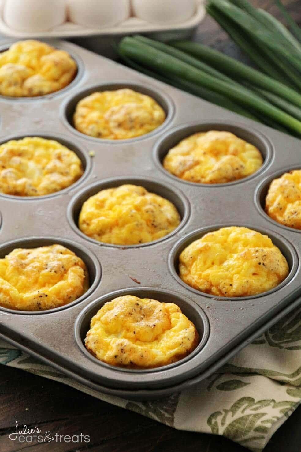 Ham & Cheese Egg Muffins + VIDEO - Julie's Eats & Treats