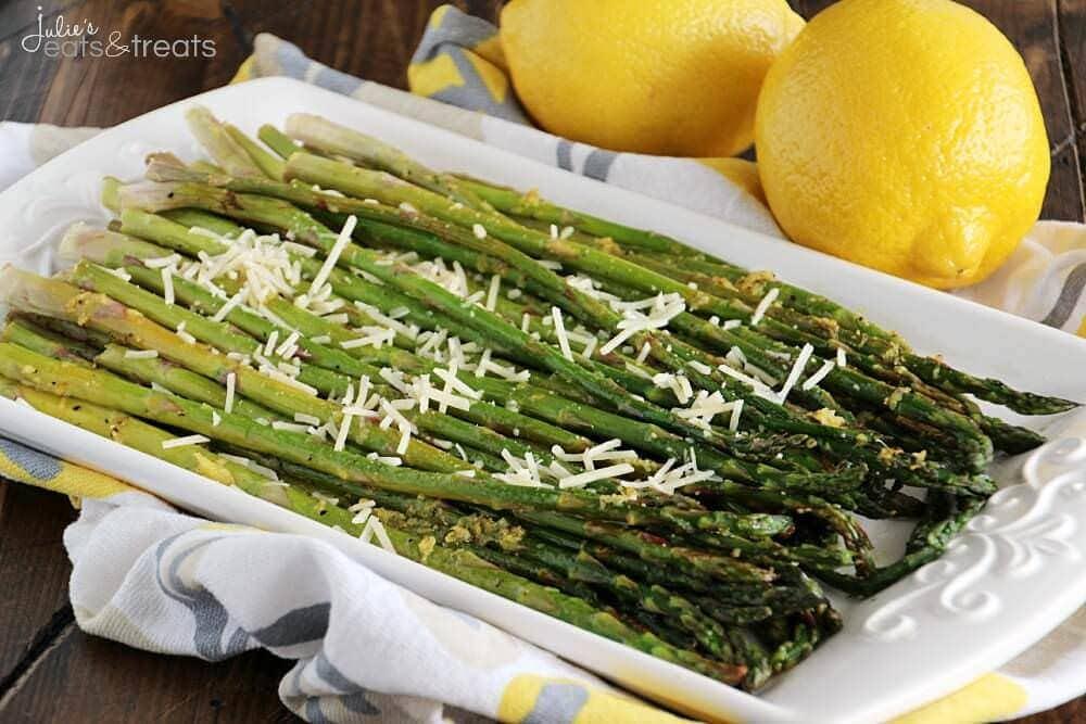 Lemon Roasted Asparagus Landscape