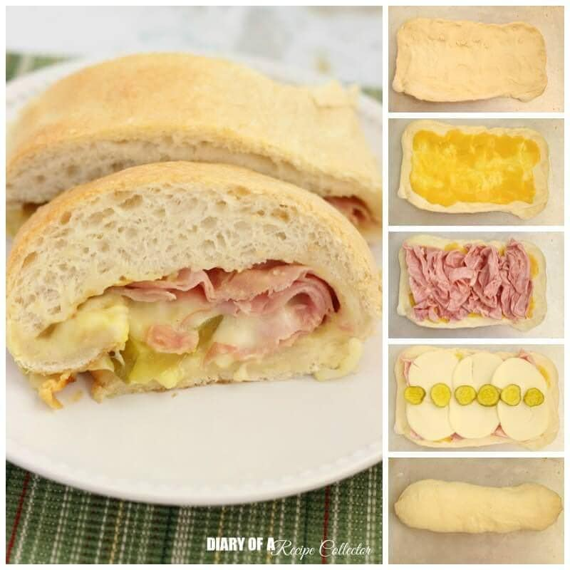 Ham Cheese Stuffed Bread