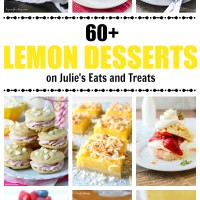 Lemon Desserts on Julie's Eats and Treats