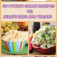 Potatoes Salads Loaded with sweet potatoes, avocados, bacon, beets! There are warm potato salads, grilled potato salads, every flavor combo you can imagine!