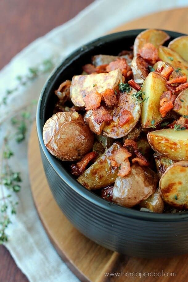 Warm-Maple-Bacon-Potato-Salad-www.thereciperebel.com-4-610x915