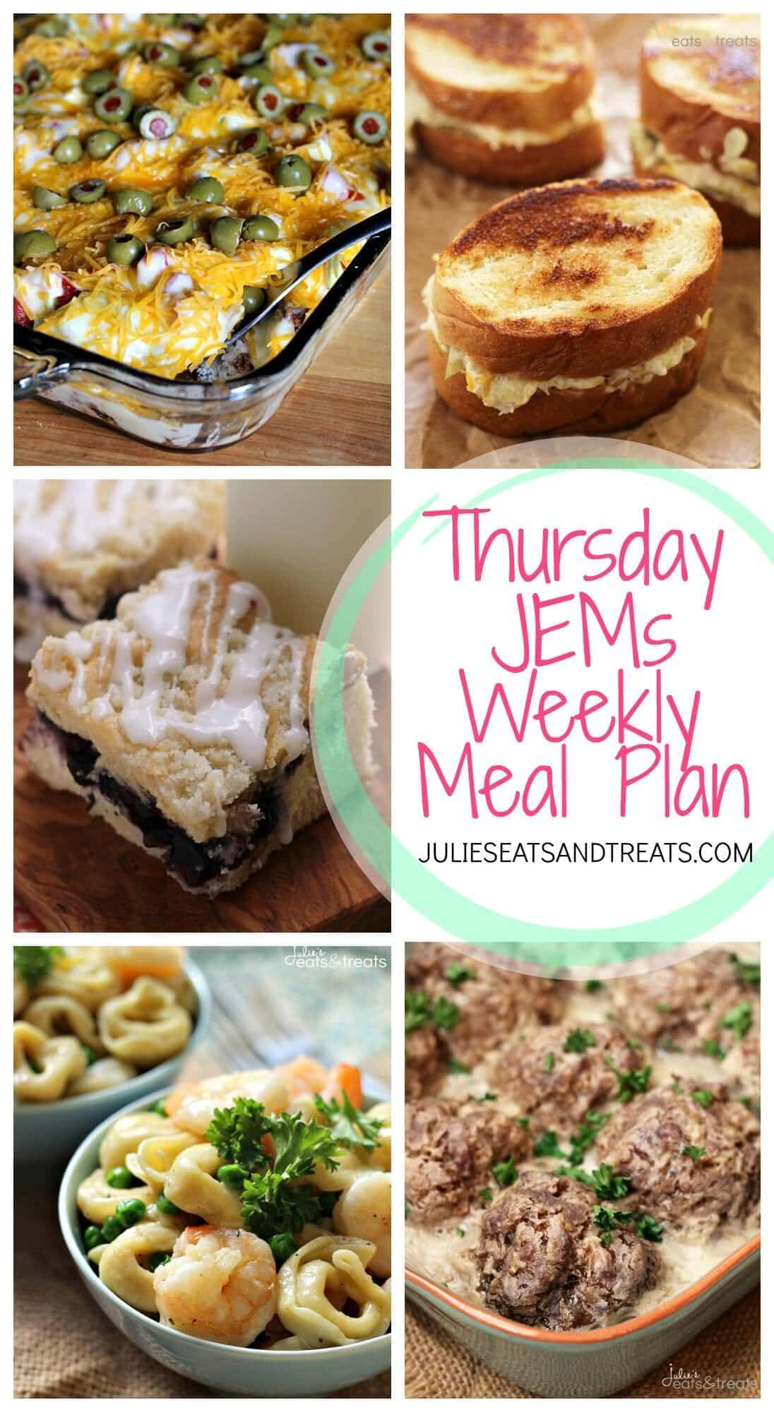 Julie's Easy Meal Plans ~ Simple every day meals for the busy family! Quick and Easy Recipes for a busy week!