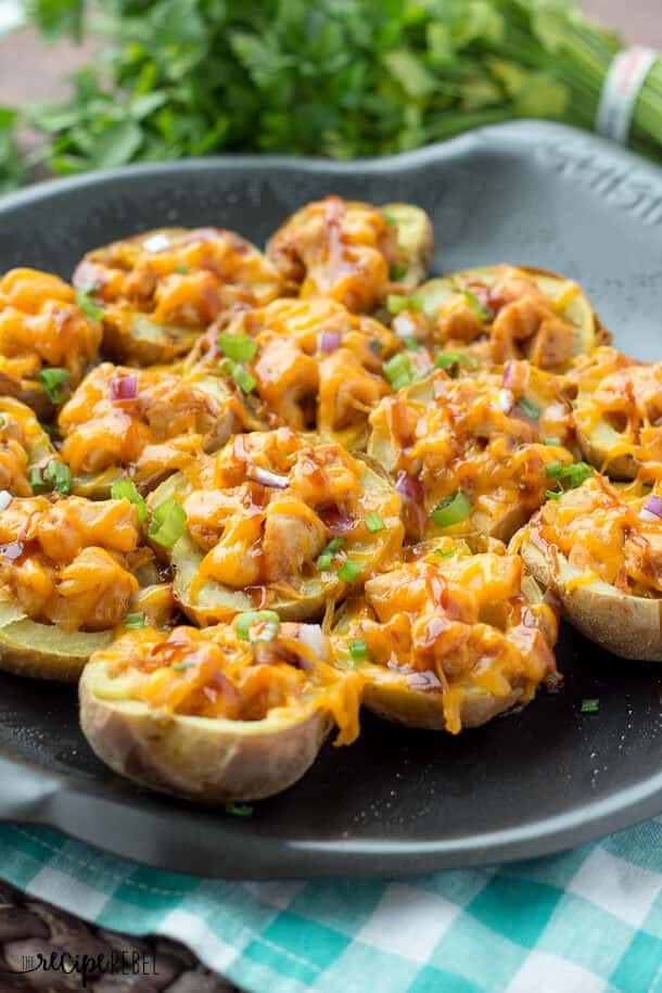 https://www.thereciperebel.com/grilled-bbq-chicken-potato-skins-and-a-cuisinart-nacho-grilling-platter-review/