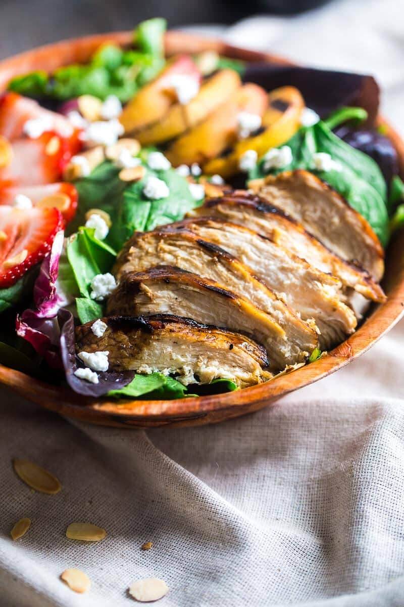 Grilled Chicken And Spinach Salad With Balsamic ...