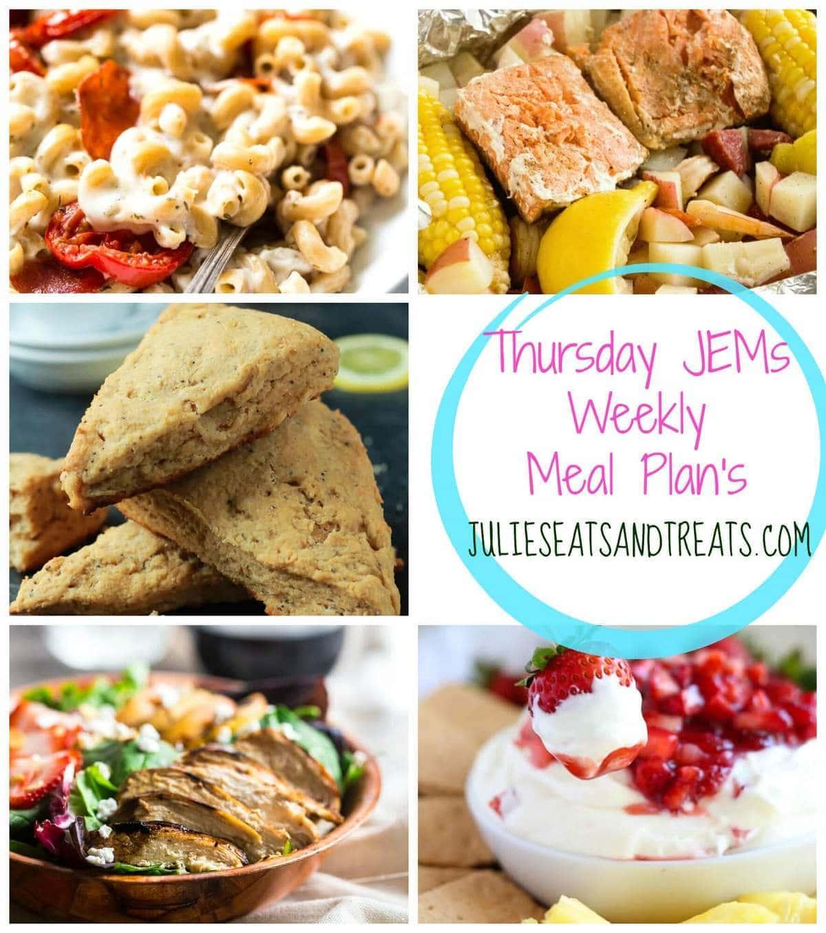 Thursday JEMs {Julie's Easy Meal Plans} 7/16/15