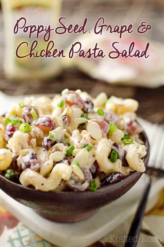 Poppy-Seed-Grape-Chicken-Pasta-Salad-Krafted-Koch