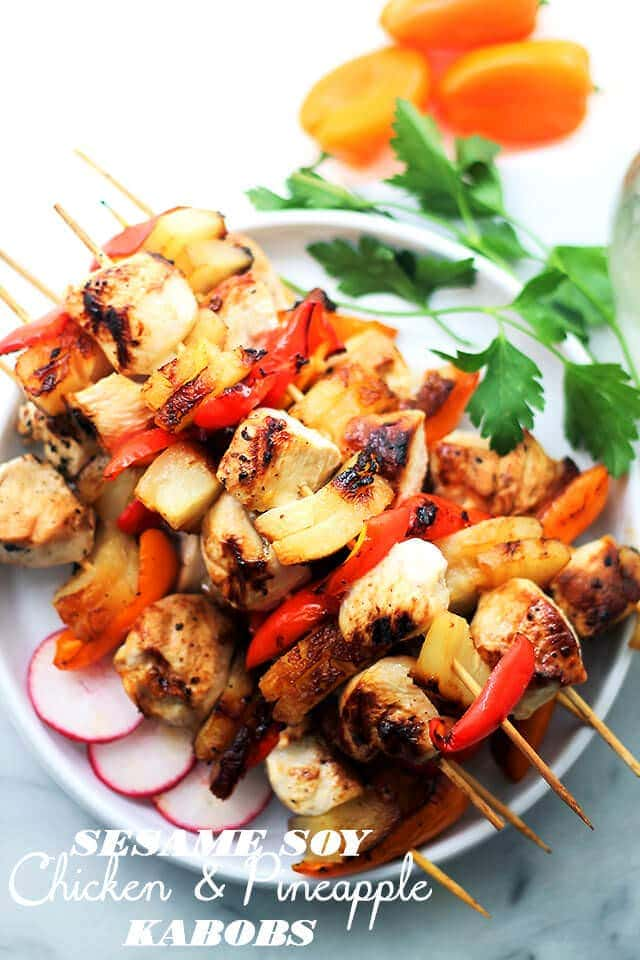 Sesame-Soy-Chicken-and-Pineapple-Kabobs