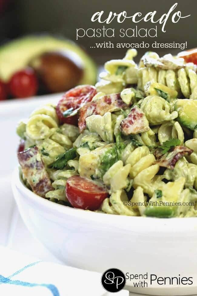 avocado-cold-pasta-salad