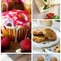 50+ Back to School Grab n Go Breakfast Recipes ~ Everything from muffins to breakfast cookies! You will be out the door fast on those hectic mornings!