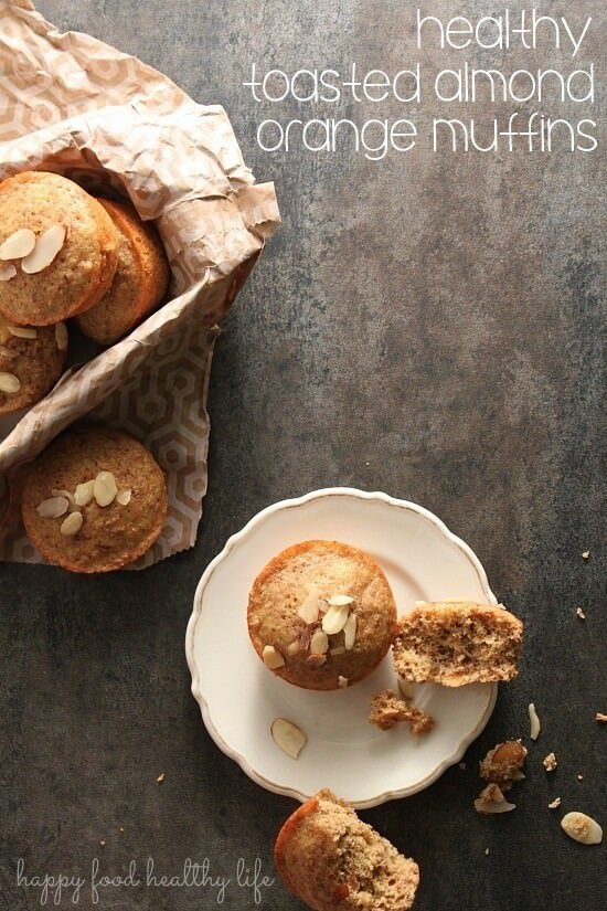 Healthy-Toasted-Almond-Orange-Muffin