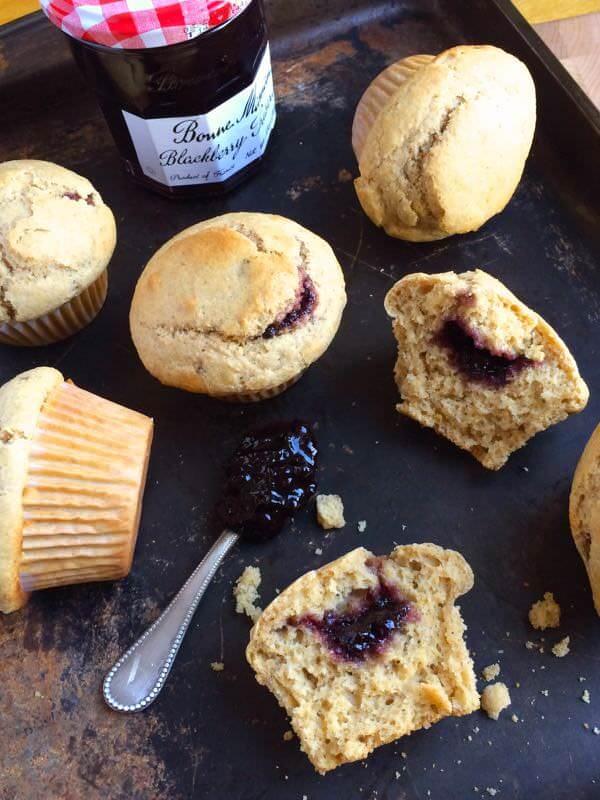 Jam-Filled-Blackberry-Muffins-The-Lemon-BOwl