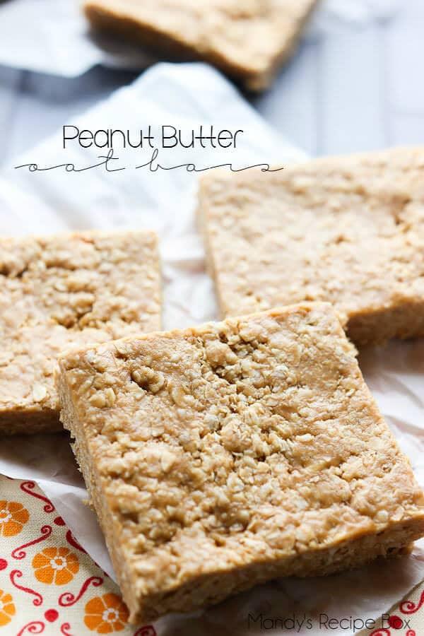 Peanut-Butter-Oat-Bars