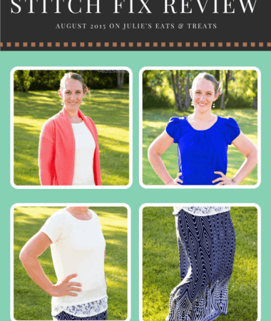Stitch Fix Review August 2015