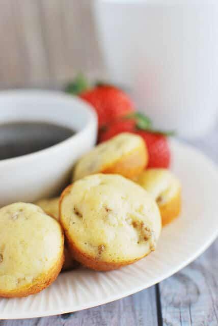 mini sausage pancake