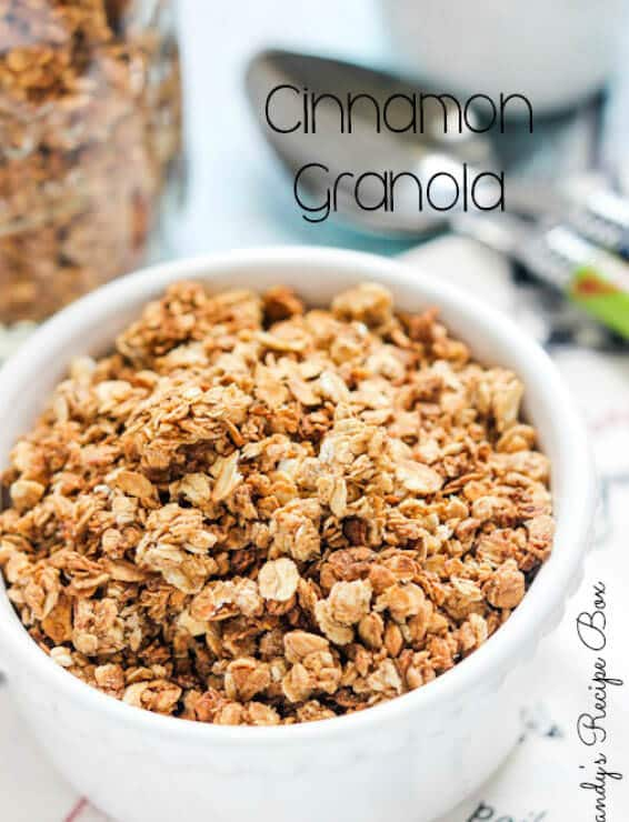 Cinnamon-Granola