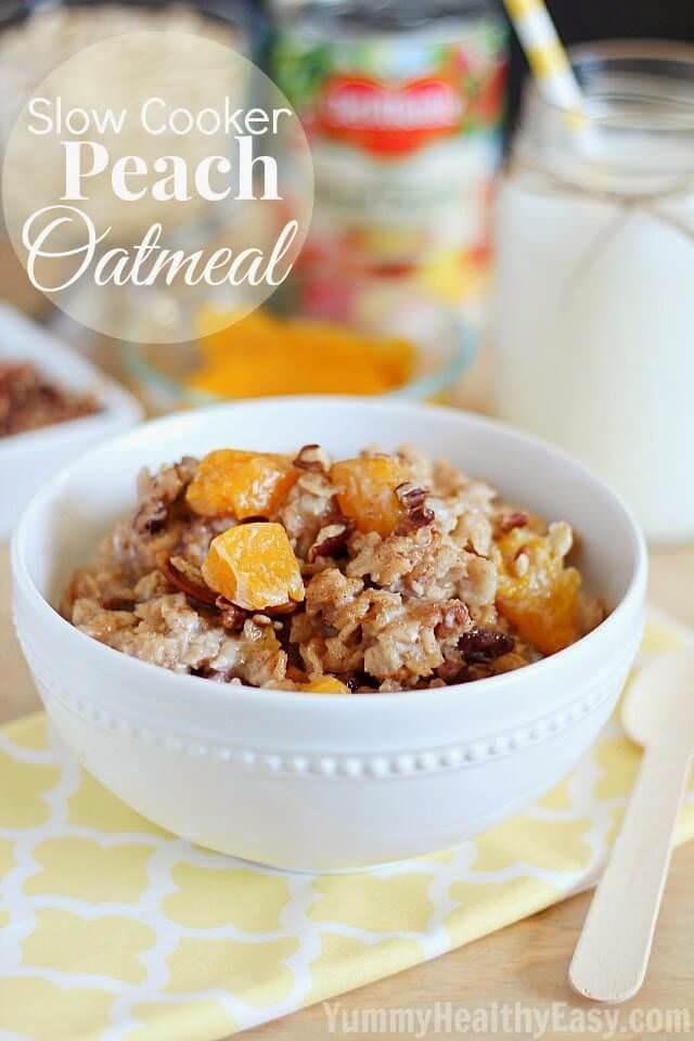 Crock-Pot-Peach-Oatmeal