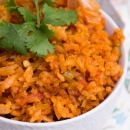 Easy Spanish Rice Recipe ~ Quick, Delicious, Homemade Spanish Rice with Tomatoes, Onion and Chilies!