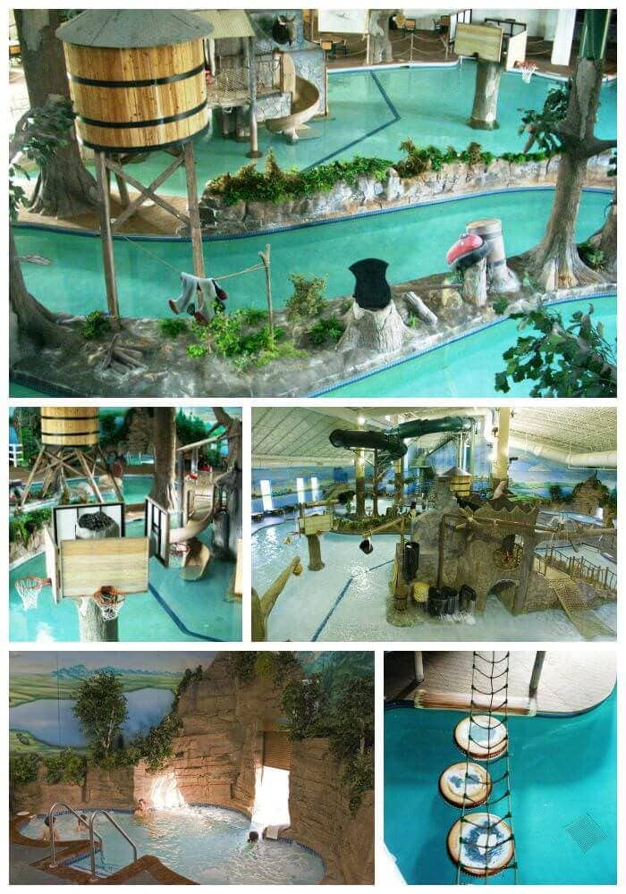 Arrowwood Lodge Water Park Collage