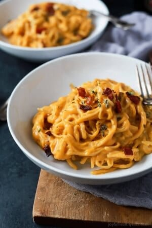 Creamy Butternut Squash Alfredo Pasta-web-5