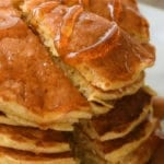 Pumpkin Pancakes recipe with maple syrup