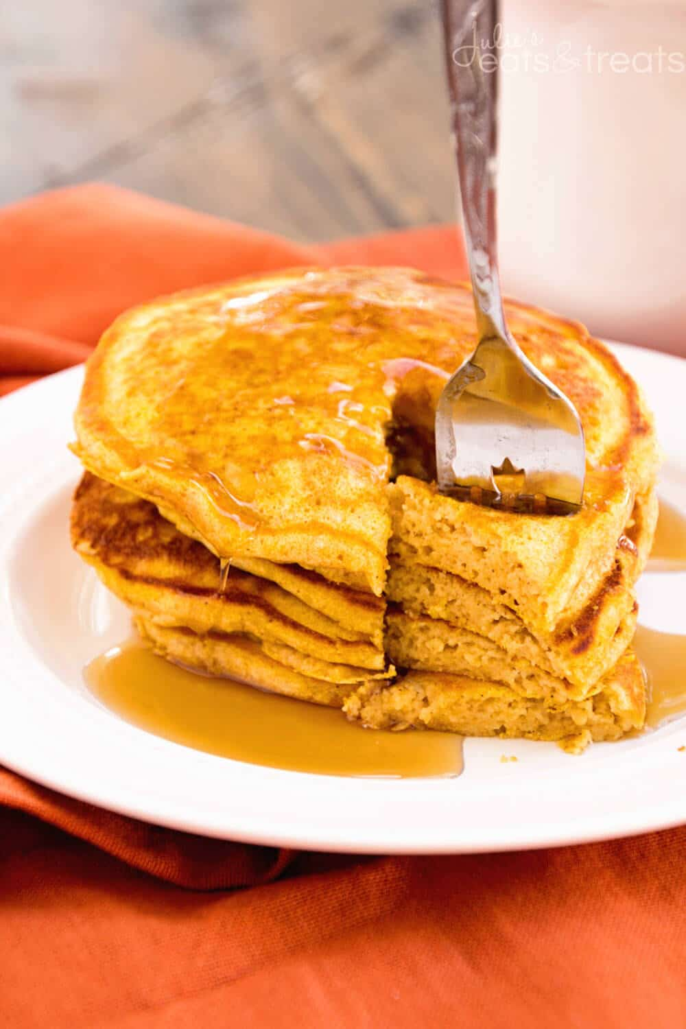Pumpkin Spice Pancakes Recipe ~ Perfectly Light & Fluffy Homemade ...