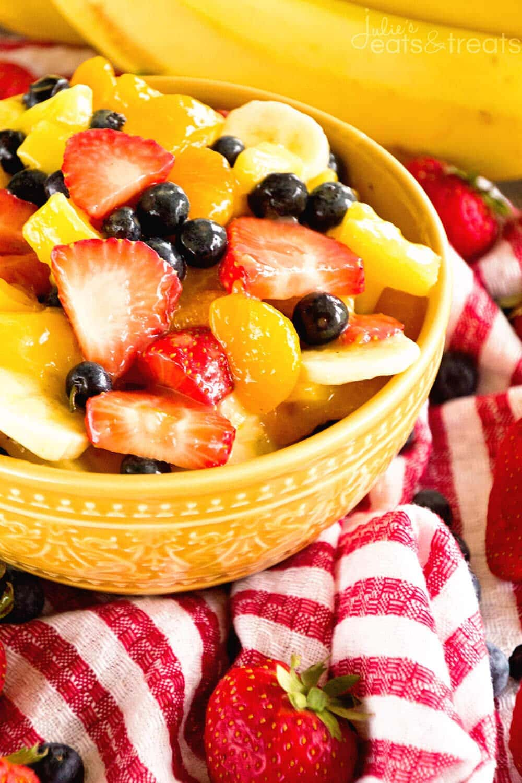 Sunshine Fruit Salad Julie S Eats Amp Treats