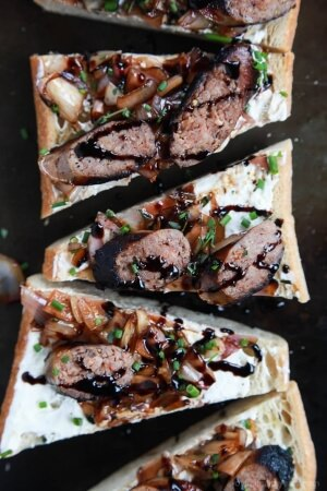 Balsamic-Italian-Sausage-Crostini-with-Whipped-Goat-Cheese-web-4