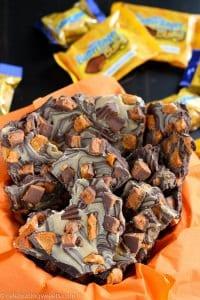 Chocolate Butterfinger Bark