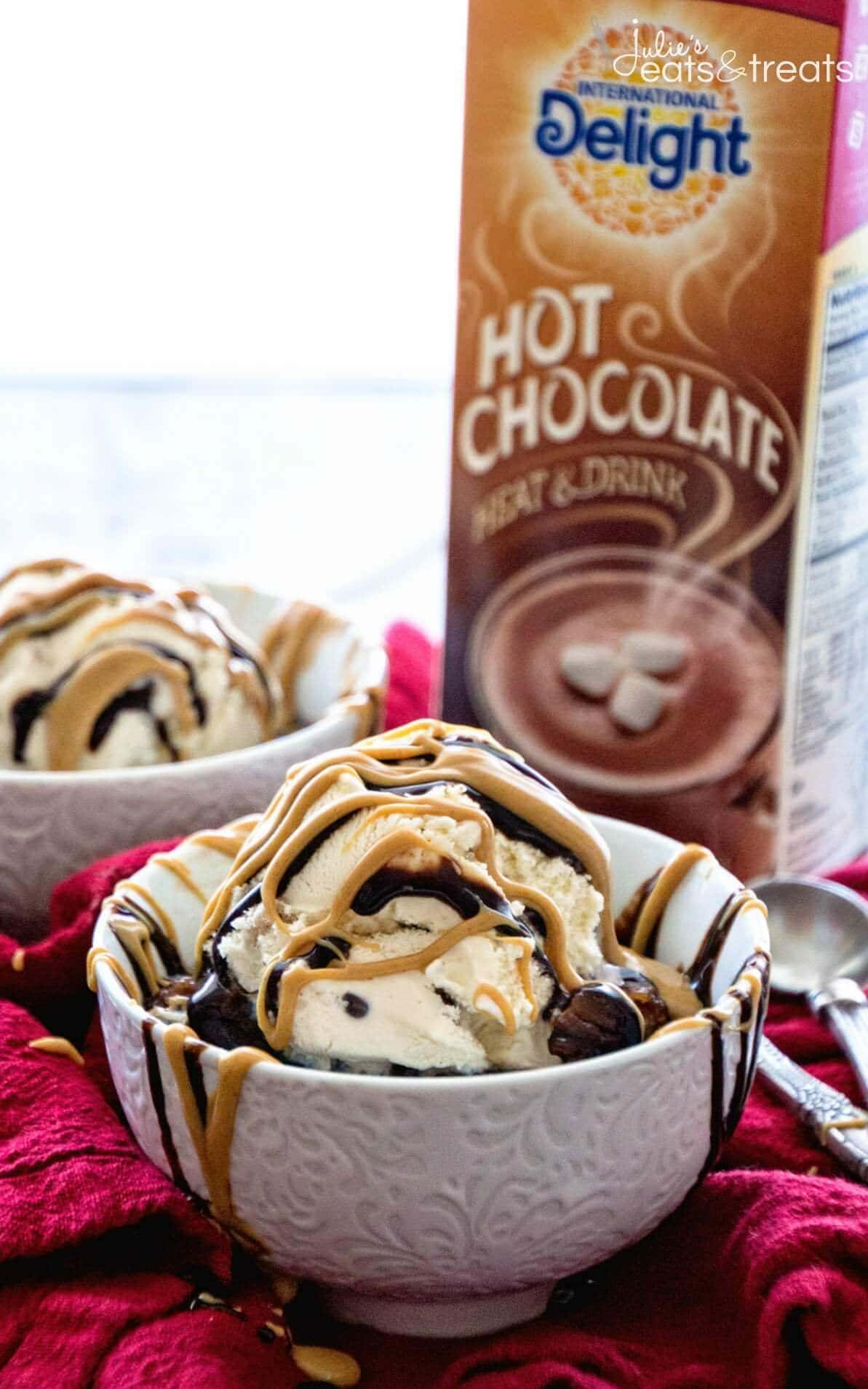 Crock Pot Peanut Butter Hot Chocolate Lava Cake Recipe - Julie's ...
