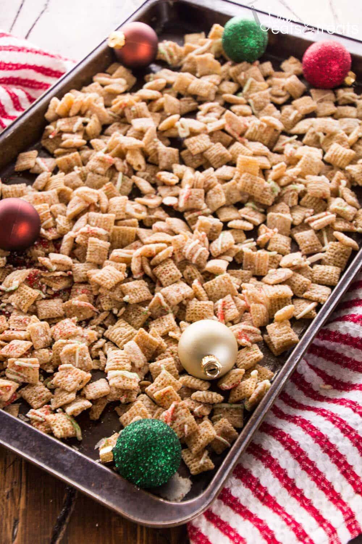 Sugar Cookie Chex Mix Recipe Julie S Eats Amp Treats