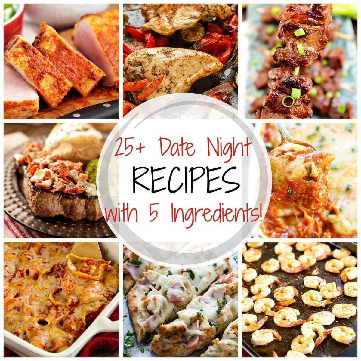 25 delicious date night recipes with 5 ingredients or less 25 delicious date night recipes with 5 ingredients or less julies eats treats forumfinder Images
