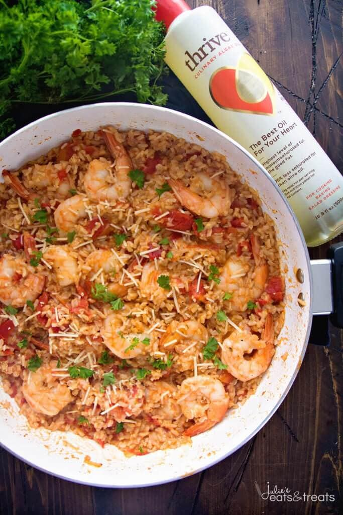 Light-Italian-Shrimp-Rice-Skillet-Recipe-Thrive-Watermark