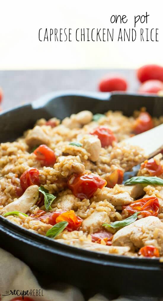 One-Pot-Caprese-Chicken-and-Rice-www.thereciperebel.com-51