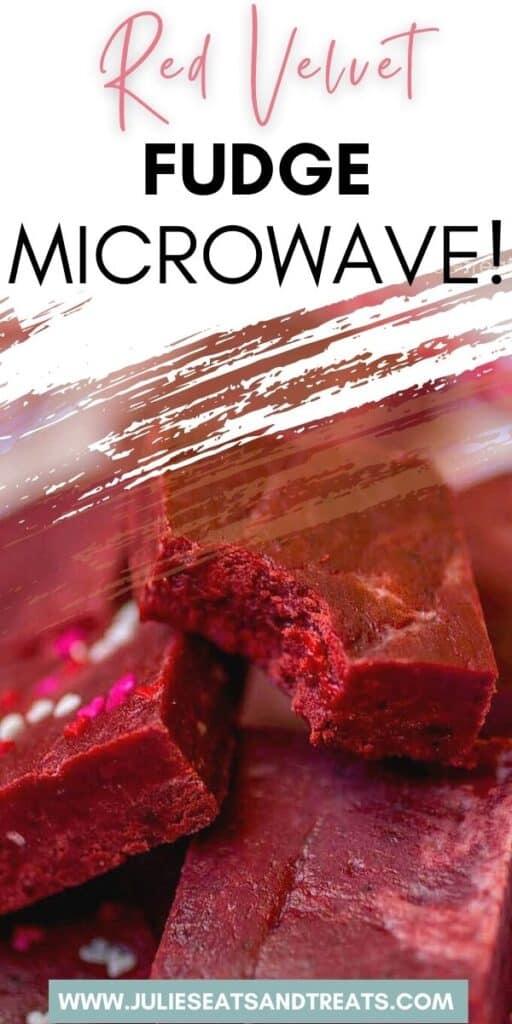 Red Velvet Fudge JET Pinterest Image