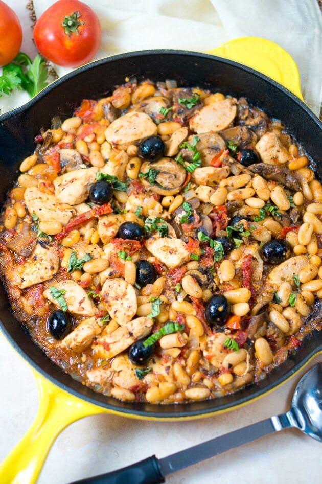 one-skillet-tuscan-chicken-7