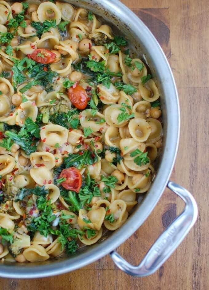 3-One-Pot-Kale-Broccoli-Chickpea-Orecchiette-Pasta-2-1-of-1