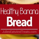 Healthy Banana Bread Recipe ~ Delicious Mini Banana Bread Loaves that are Lightened Up with Coconut Oil, Whole Wheat Flour and Truvia! Moist, Easy and Delicious Banana Bread!