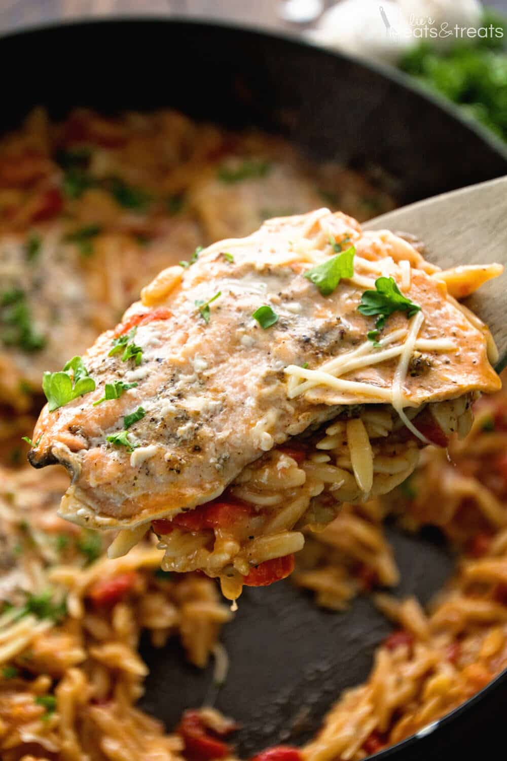 Light Italian One Pot Salmon Orzo Recipe Quick Easy One Pot Pasta Dish That Is Full Of Flavor Delicious Orzo Pasta Flavorful Salmon Perfect For An