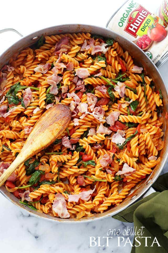 One-Pan-BLT-Pasta
