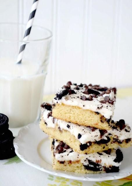 Cookies & Cream Texas Sheet Cake