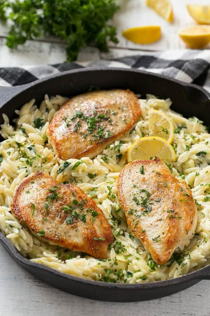 Zo S Kitchen Chicken Orzo 35+ one pot meal recipes - julie's eats & treats