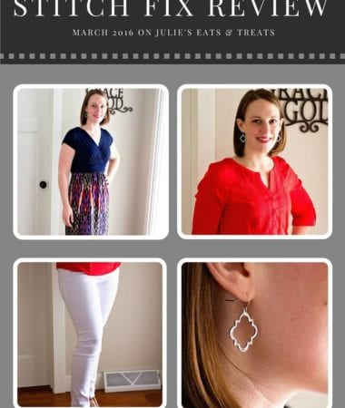 Stitch Fix Review March 2016 ~ Personalized Stylists Pick Out a Selection of Five Clothing Items or Accessories and Ship it to Your Doorstep!