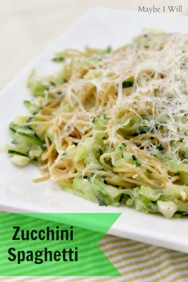 Zucchini-Spaghetti