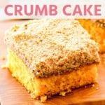 crumb cake New Pins